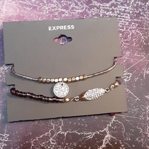 Express Jewelry - EXPRESS Beaded Bracelets 2 NWT